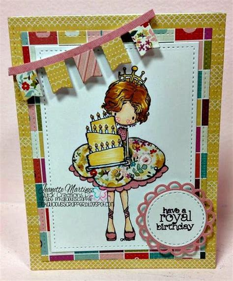 tiddly inks rubber sts tiddly inks quot let us eat cake quot clear st creations