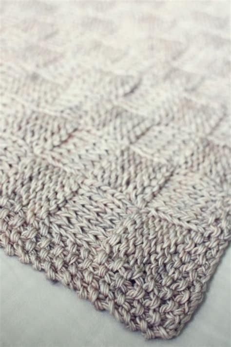 basket weave knit baby blanket pattern 8 free baby blanket knitting patterns craftsy
