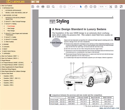 free download parts manuals 2002 lexus gs electronic valve timing lexus gs430 300 repair manual of pdf download