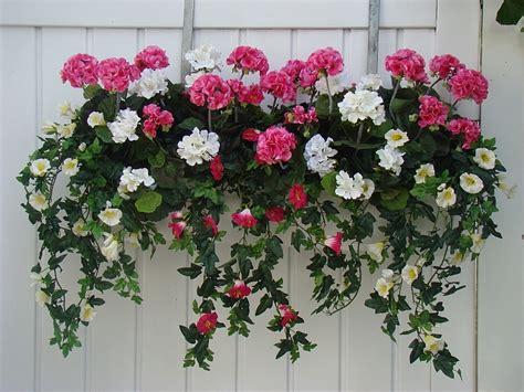 Blumenkübel Bepflanzen Vorschläge by Balkonkasten Mit Bepflanzung 60 80 Cm Kunstpflanze De