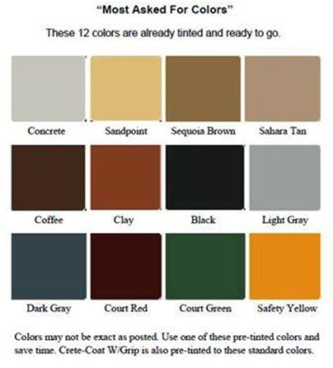 paint colors for concrete concrete floor paint