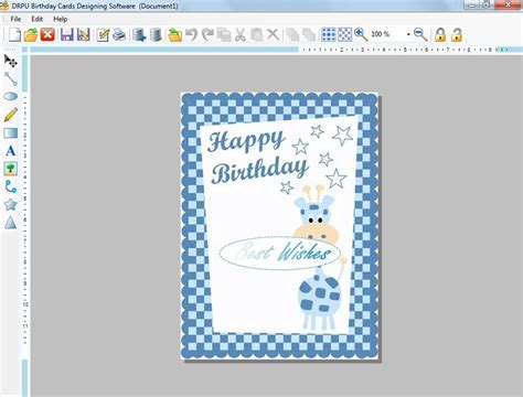 birthday card make birthday card creator free demo printable