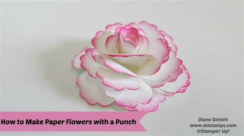 how to make flowers with craft paper crafts