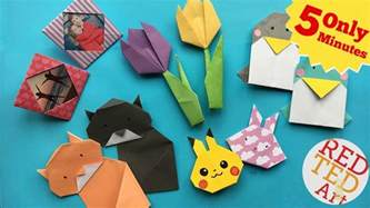 5 minute origami best 5 minute crafts 5 easy origami projects