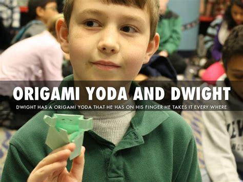 origami yoda dwight the strange of origami yoda by harmony