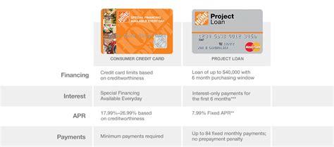 make home depot credit card payment consumer credit card