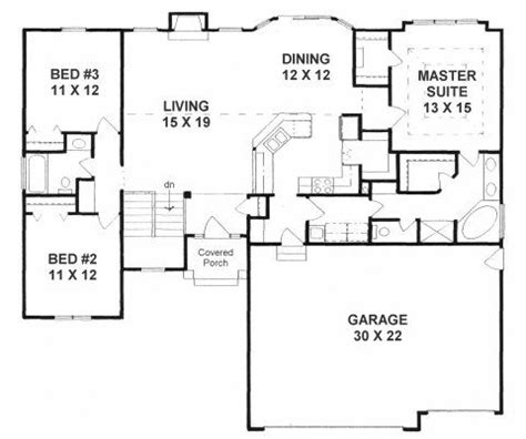 split bedroom house plans plan 1602 3 split bedroom ranch w walk in pantry