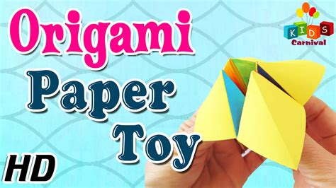 how to make paper toys origami origami paper learn how to make with easy