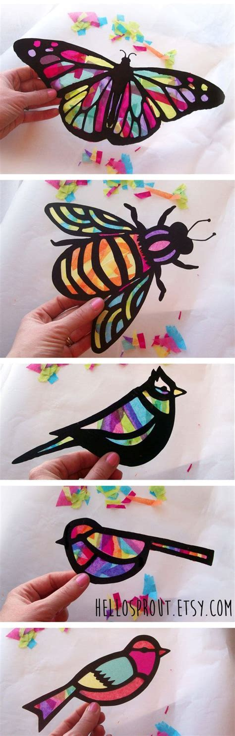 arts and crafts with tissue paper 25 best ideas about crafts on