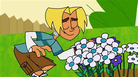 johnny test johnny test images gil smelling flowers hd wallpaper and