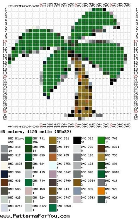bead loom software palm tree seed bead patterns at patterns for you it is