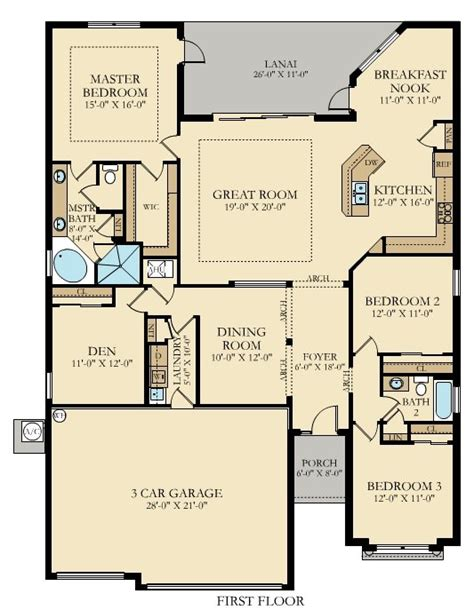lennar homes floor plans florida the princeton new home plan in gran paradiso manor homes