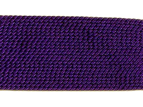 bead cord carded griffin silk bead cord amethyst colored 0 6mm