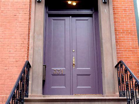 colored doors color your front door