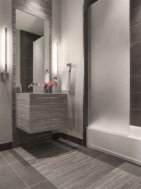 modern gray tile bathroom modern gray mosaic tile bathroom contemporary bathroom
