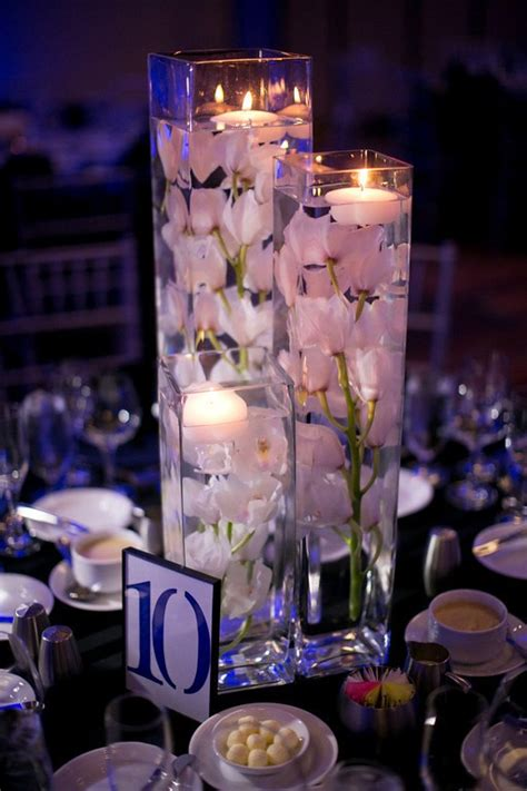 centerpieces with flowers 37 floating flowers and candles centerpieces shelterness