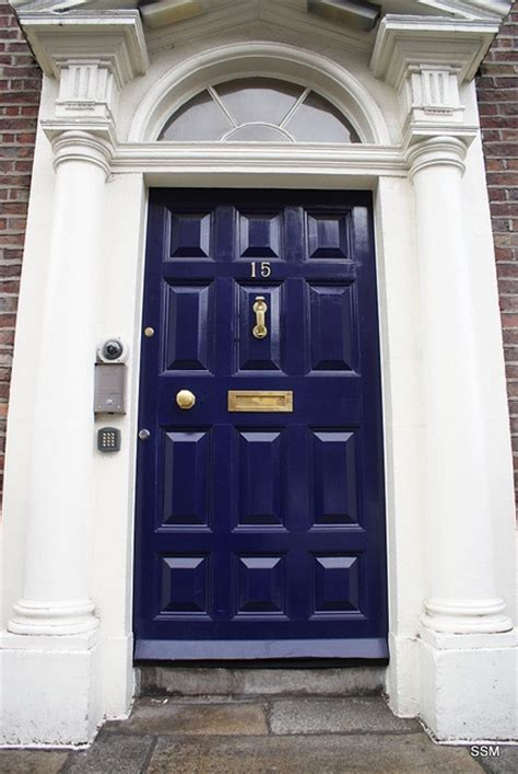 navy blue front doors blue navy door the brass for the home