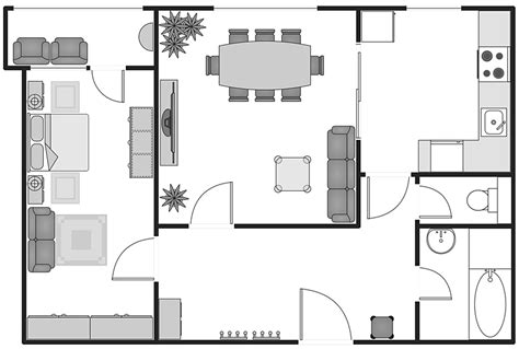 restaurant floor plan with dimensions creating building plan with building plans solution