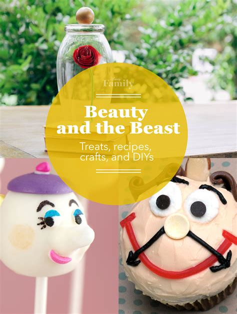 the beast crafts for happy anniversary and the beast disney family