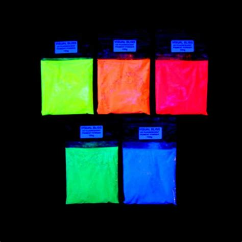 glow in the pigment powder uk fluorescent luminescent glow in the additive pigment