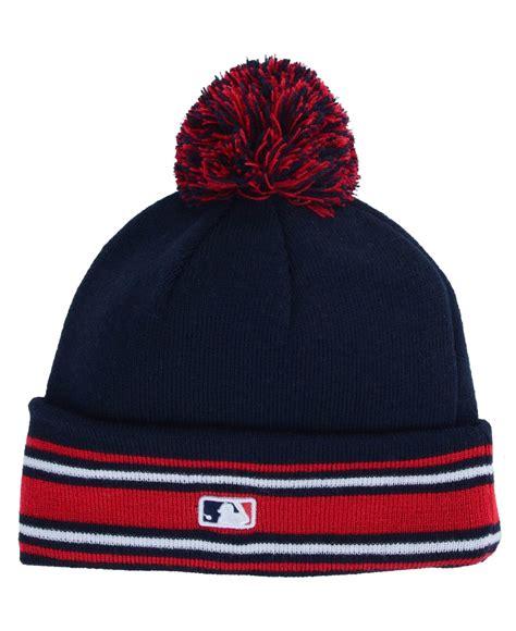 Ktz Atlanta Braves Mlb Ac Knit Hat In Blue For Lyst
