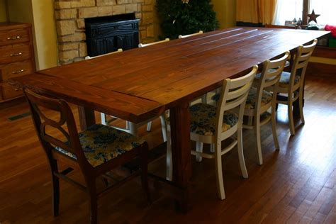 kitchen table design farmhouse style dining table plans kitchentoday