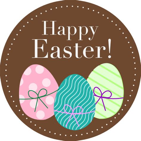 Free Happy Easter Clip by Happy Easter Eggs Clip At Clker Vector Clip