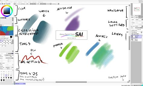 easy paint tool sai free painttool sai alternatives and similar software
