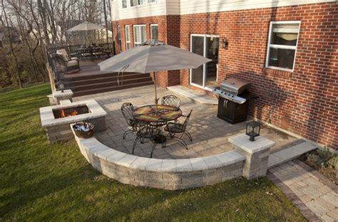 patios and decks designs enticing backyard paver ideas for your home exterior