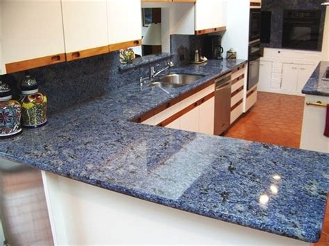 kitchen granite countertop ideas fascinating blue granite countertops in modern and handsome kitchens