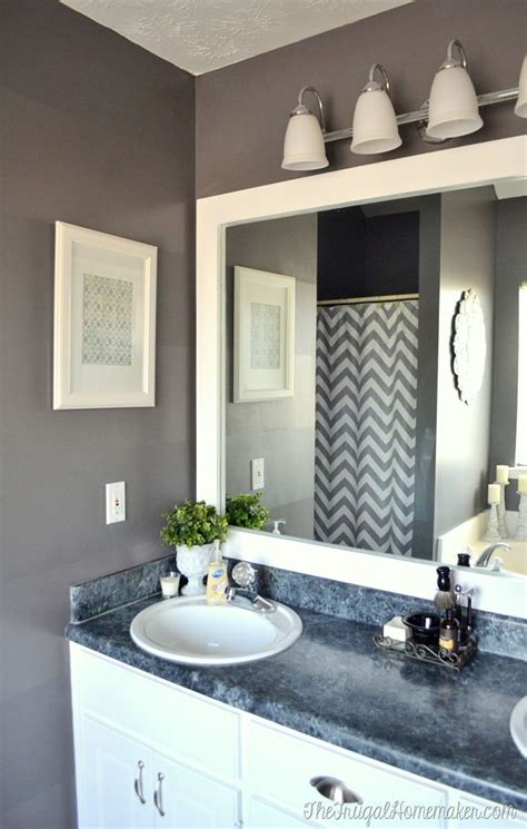 mirror frames bathroom 17 best ideas about bathroom mirrors on
