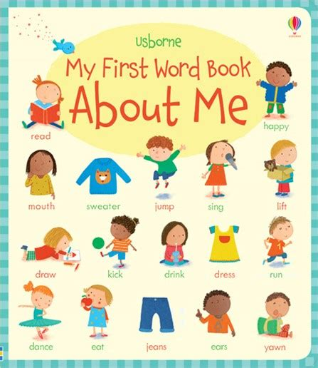 picture word book my word book about me books for
