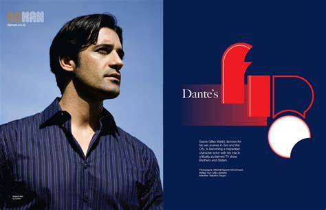 Gilles And Four Other Characters gilles marini exclusive in da man da man magazine