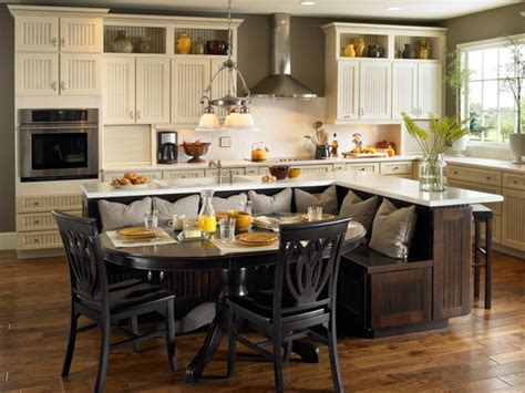 kitchen island with built in seating 10 kitchen islands kitchen ideas design with cabinets