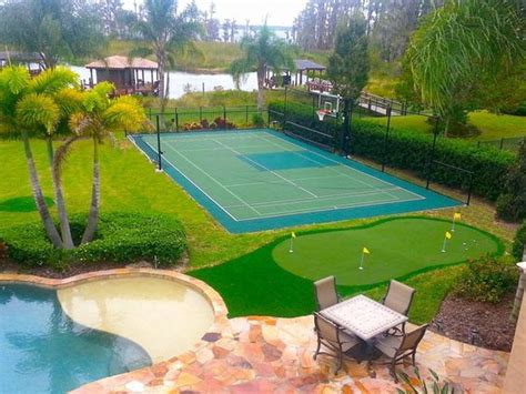 backyard sport courts backyard basketball court ideas to help your family become