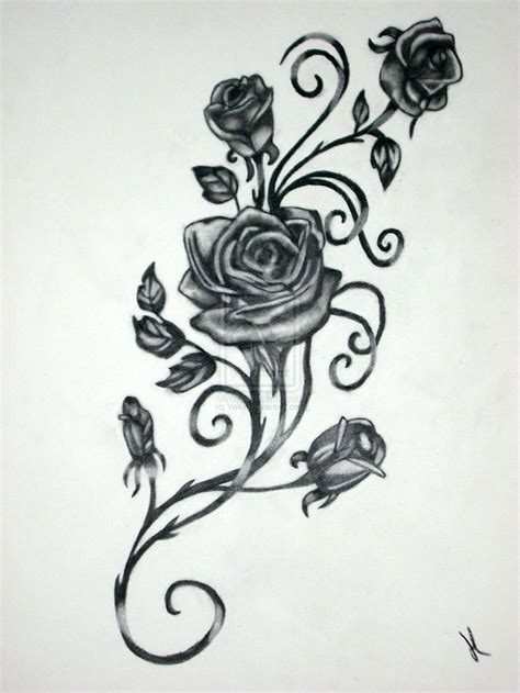 rose thorn tattoo designs tattoo collection