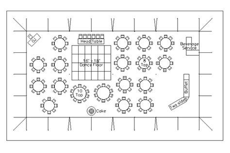 wedding reception floor plan template cad tent layout for wedding reception with 150 guests in