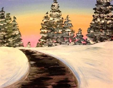 paint nite in richmond va bailey s west broad 12 17 2015 paint nite event