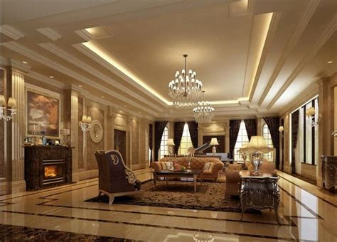 luxury home decoration 68 interior designs for grand living rooms page 12 of 14