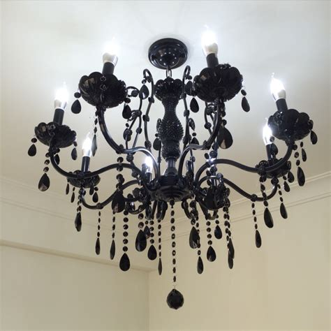 black dining room chandelier compare prices on bohemian chandelier