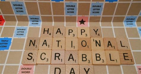 scrabble information facts and daily trivia for wednesday april 13 2016