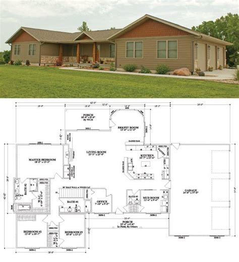 3 Bedroom 3 Bath House Plans brighton iii floorplan by wardcraft modular homes in