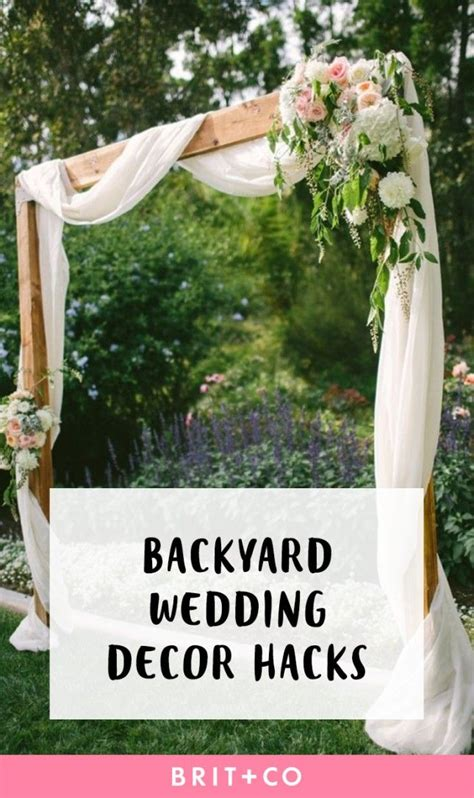 cheap backyard wedding reception ideas 25 best ideas about backyard wedding decorations on
