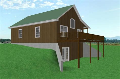 small home plans with basement small country cabin house plan cabin with walkout