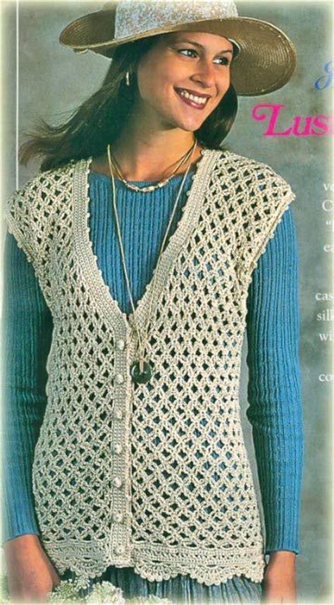 easy knit vest for beginners crochet vest pattern search heklane bluze