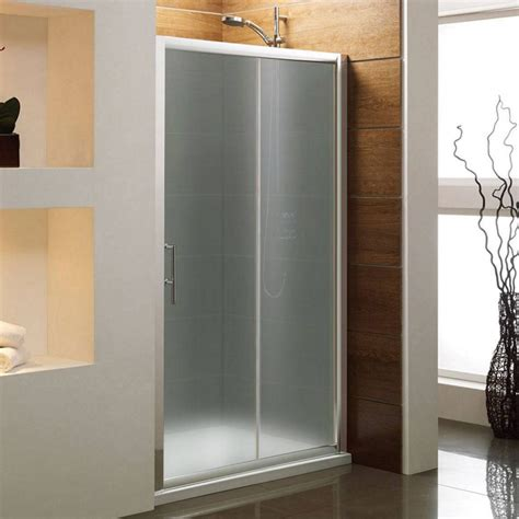 shower door frosting bathroom photo frosted modern glass shower sliding door