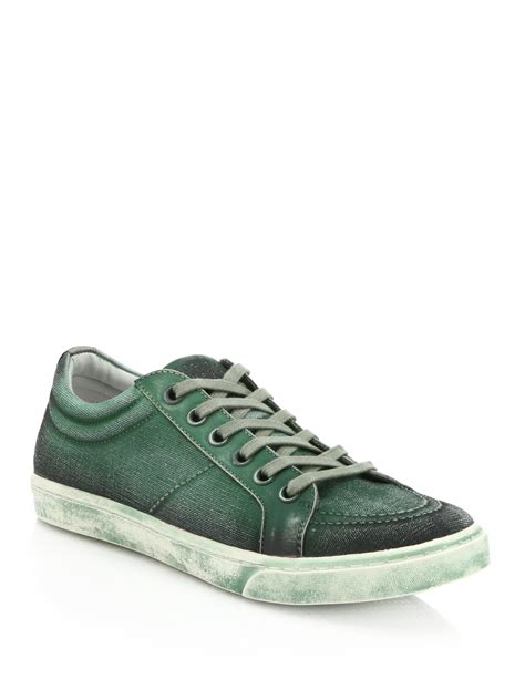 spray paint sneakers supply canvas spray paint sneakers in green for