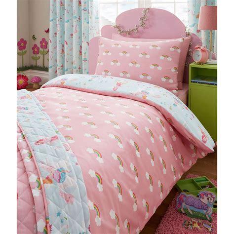 unicorn bedding magical unicorn junior duvet cover set bedding