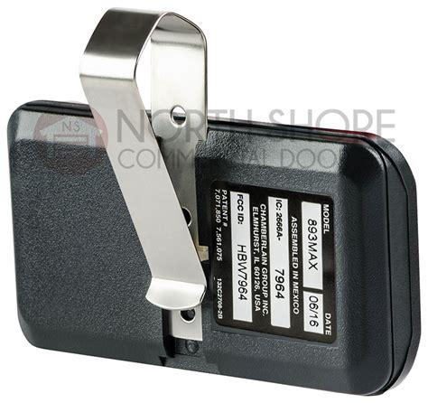 Garage Door Remote Controls Liftmaster 893max 3 Visor Remote Garage Door Opener