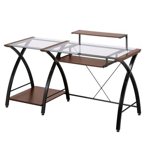 z line computer desk z line designs cherry desk zl4053 3dbu the home depot